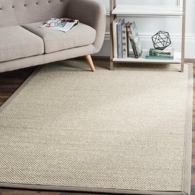Columbus Marble/Khaki Area Rug Rug Size: Runner 26 x 10