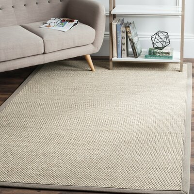 Monadnock Marble/Khaki Area Rug Rug Size: Rectangle 5 x 8