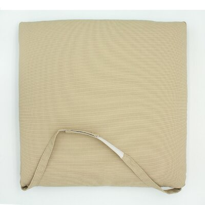 Outdoor Dining Chair Cushion Fabric: Beige