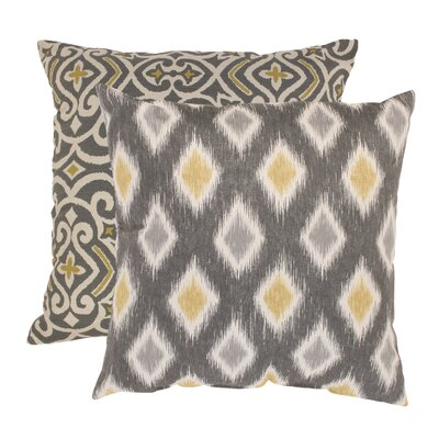 Fraley And Rodrigo 100% Cotton Throw Pillow Set Size: 23 x 23