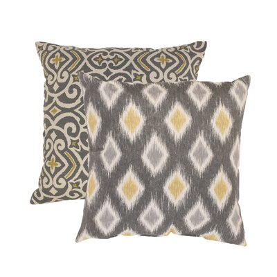 Fraley and Rodrigo Cotton Throw Pillow Size: 16.5 x 16.5