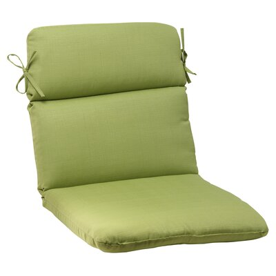 Tadley Outdoor Chair Cushion Color: Green