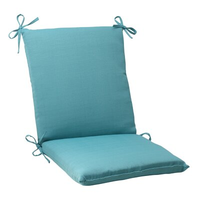 Tadley Outdoor Chair Cushion Color: Turquoise