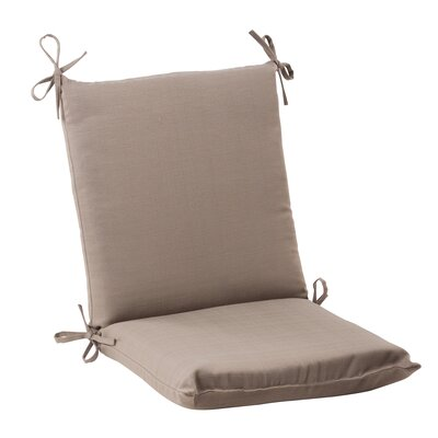 Tadley Outdoor Chair Cushion Color: Taupe