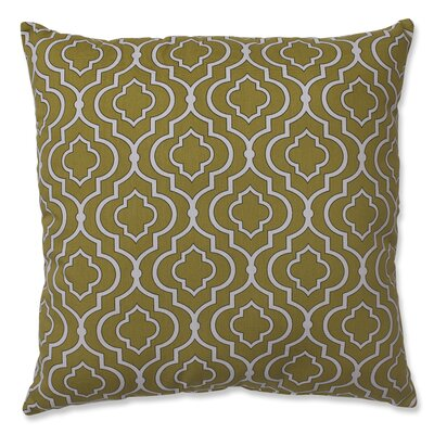 Carlyle 100% Cotton Throw Pillow Color: Green