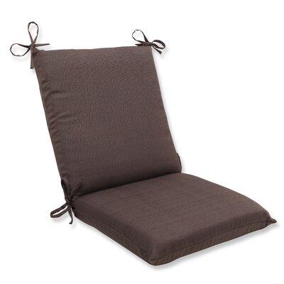 Tadley Outdoor Chair Cushion Color: Chocolate