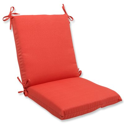 Tadley Outdoor Chair Cushion Color: Coral