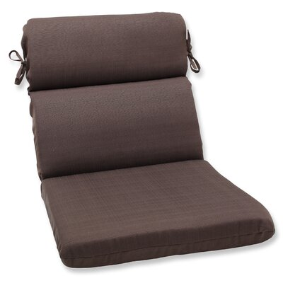 Tadley Outdoor Chair Cushion Color: Chocolate