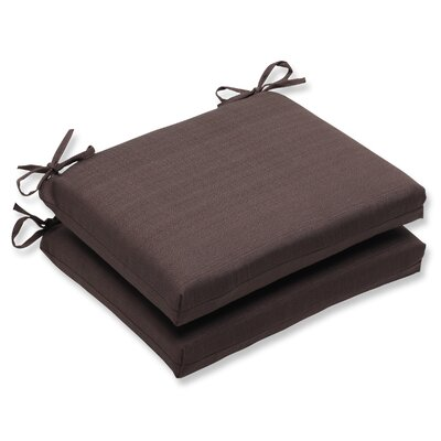 Tadley Outdoor Dining Chair Cushion Color: Chocolate