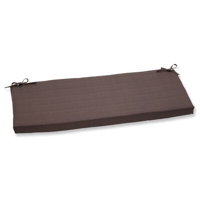 Tadley Scott Outdoor Bench Cushion Color: Chocolate