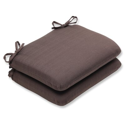 Tadley Outdoor Seat Cushion Color: Chocolate
