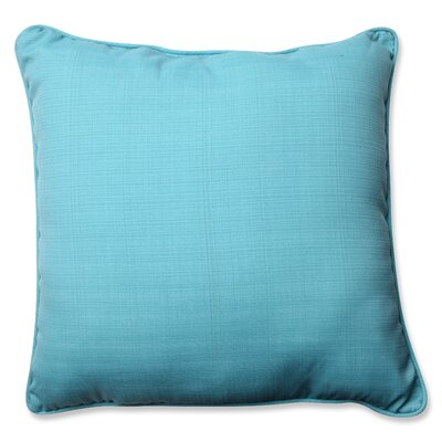 Tadley Corded Indoor/Outdoor Throw Pillow Color: Pool