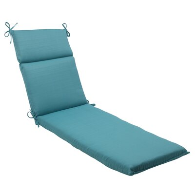 Tadley Chaise Lounge Cushion Color: Turquoise