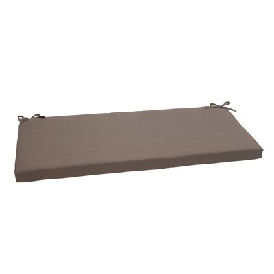 Tadley Scott Outdoor Bench Cushion Color: Taupe