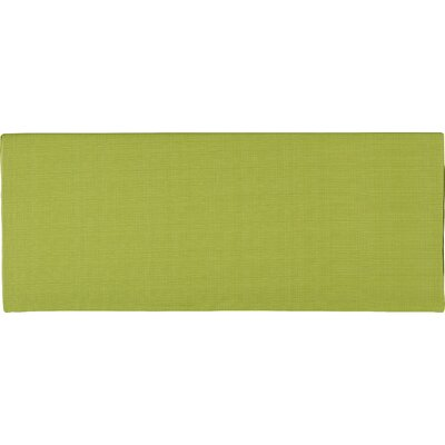 Tadley Scott Outdoor Bench Cushion Color: Green