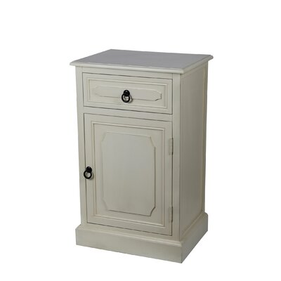 Fellers 1 Drawer 1 Door Accent Stand Finish: Vanilla Bean