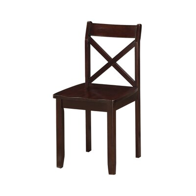 Flossmoor Side Chair Finish: Cappuccino