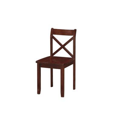 Flossmoor Side Chair Finish: Cherry
