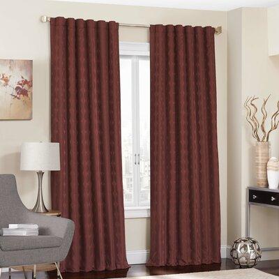 Charlton Home Fitzhugh Blackout Thermal Single Curtain Panel