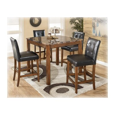 Athens 5 Piece Counter Height Dining Set