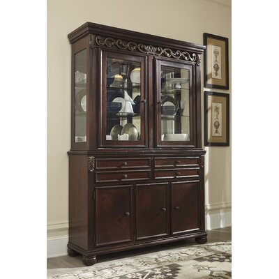 Cedar Creek Lighted China Cabinet