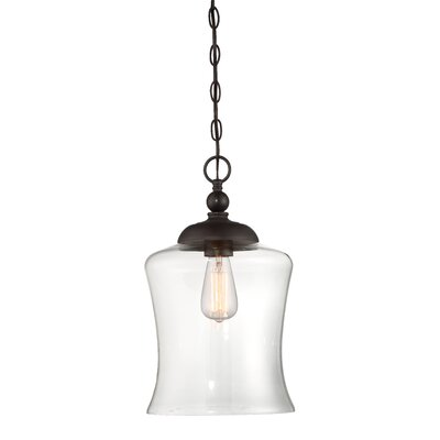 Gammons 1-Light Inverted Pendant Finish: Oil Rubbed Bronze