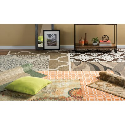 Octavius Brown Indoor Area Rug Rug Size: Rectangle 8 x 11