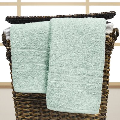 Strafford Cotton Oversized Bath Sheet Color: Sky