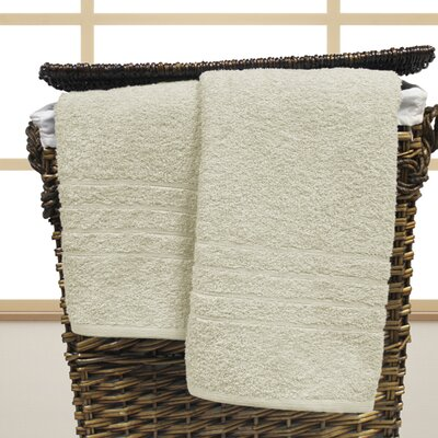Ridgway Cotton Oversized Bath Sheet Color: Ivory