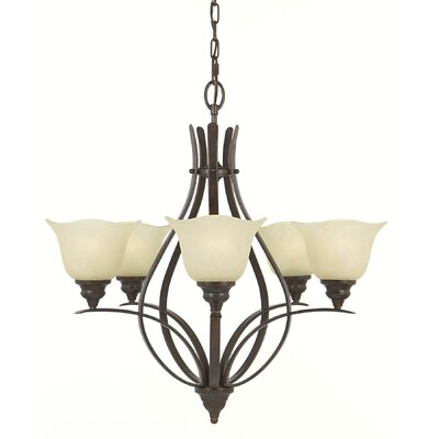 Dakota 5-Light Shaded Chandelier