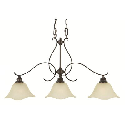Dakota 3-Light Kitchen Island Pendant