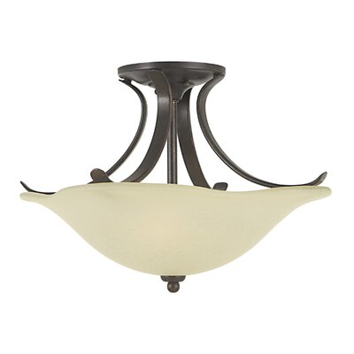 Dakota Semi Flush Mount Size: Small