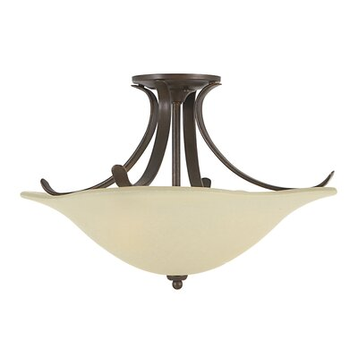Dakota Semi Flush Mount Size: Large
