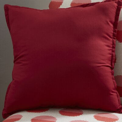 Blairview Water and Stain Resistant Throw Pillow Color: Fig