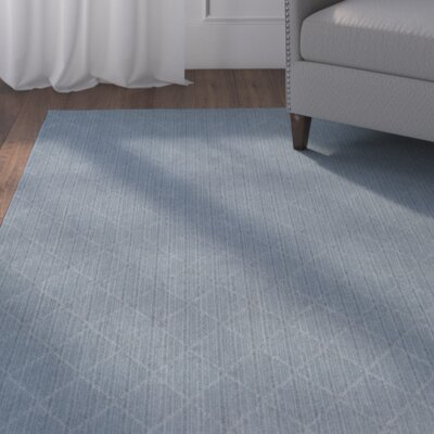 Huxley Blue Indoor/Outdoor Area Rug Rug Size: Octagon 10