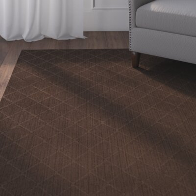 Huxley Brown Indoor/Outdoor Area Rug Rug Size: Square 4