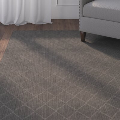 Huxley Gray Indoor/Outdoor Area Rug Rug Size: Square 4