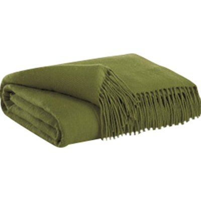 Sussex Acryllic Chenille Throw Color: Lime