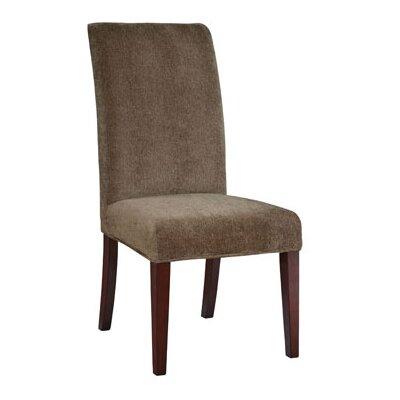 Lucinda Chenille Slipcover Upholstery: Olive Green