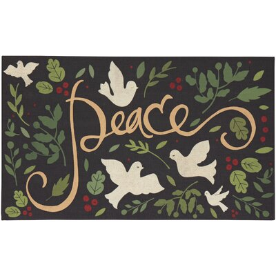Franzen Peace Doves Doormat