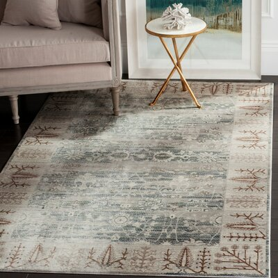 Filton Dark Gray/Light Gray Area Rug Rug Size: 3 x 5