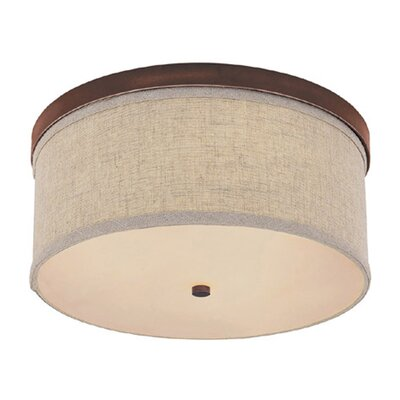 Charlton Home Osborne 3 Light Flush Mount