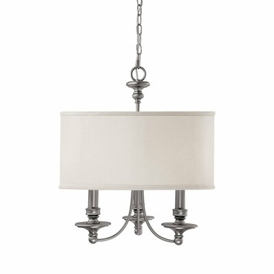Osborne 3-Light Drum Chandelier