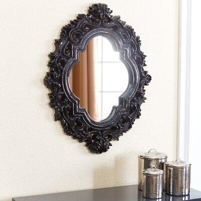 Cobb Resin Wall Mirror Finish: Black CHLH4953 32014652