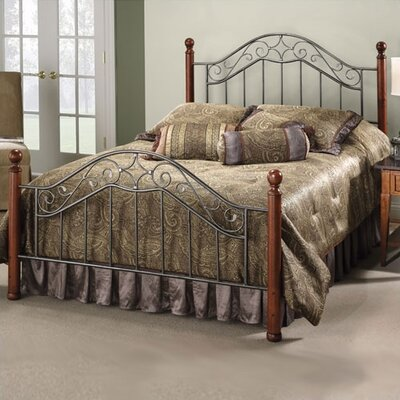 Cleo Panel Bed Size: King