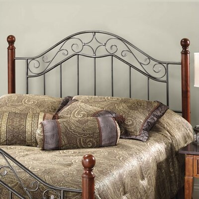 Cleo Open-Frame Headboard Size: King