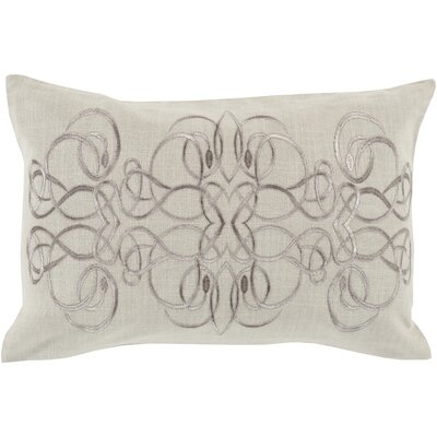 Capanagh 100% Linen Lumbar Pillow Cover Color: NeutralGray