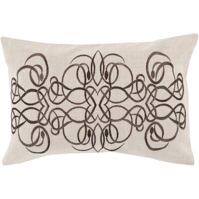 Capanagh 100% Linen Lumbar Pillow Cover Color: NeutralBrown