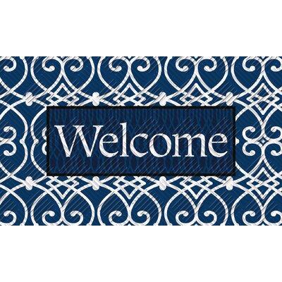 Yate Trellis Welcome Embossed Mat