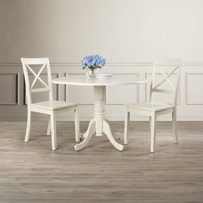 Abrahamic 3 Piece Drop Leaf Dining Set